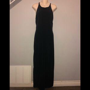 🍍Vintage 90s Black Velvet Dress